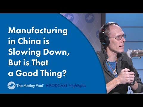 Manufacturing in China is Slowing Down, But is That a Good Thing?