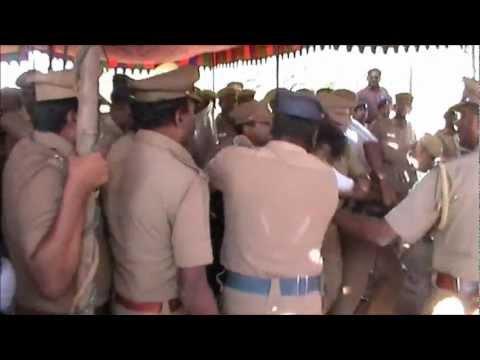 Police atrocity in Tamil Nadu