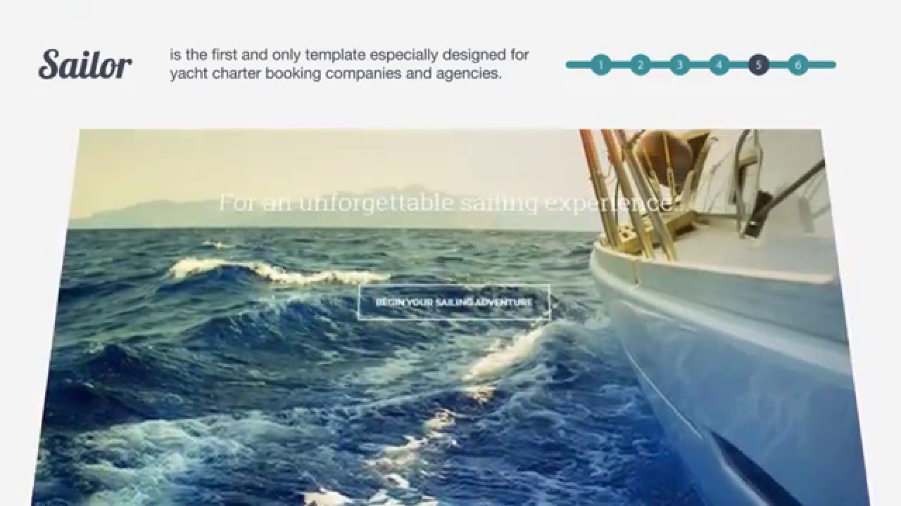 Parallax Scrolling Html5 Website Templates Youtube