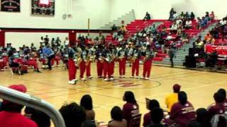 nansemond river high school saxophones in battle of the bands 2011