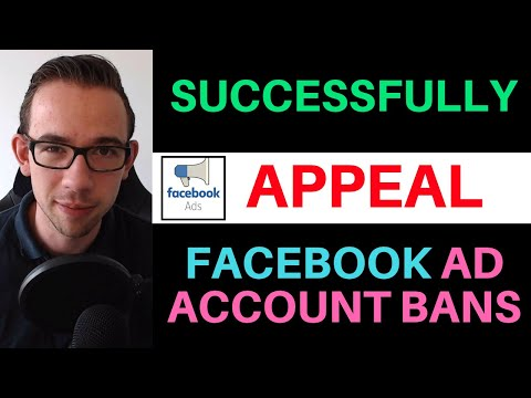 How To Successfully Appeal Facebook Ad Account Bans [2019 Method] thumbnail