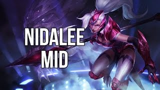 League of Legends - Challenger Nidalee Mid - Full Game Commentary