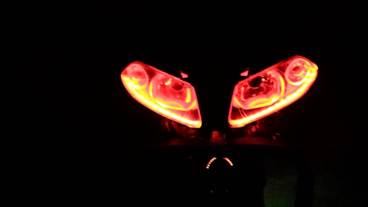 Yamaha Tzr Engel Øjne