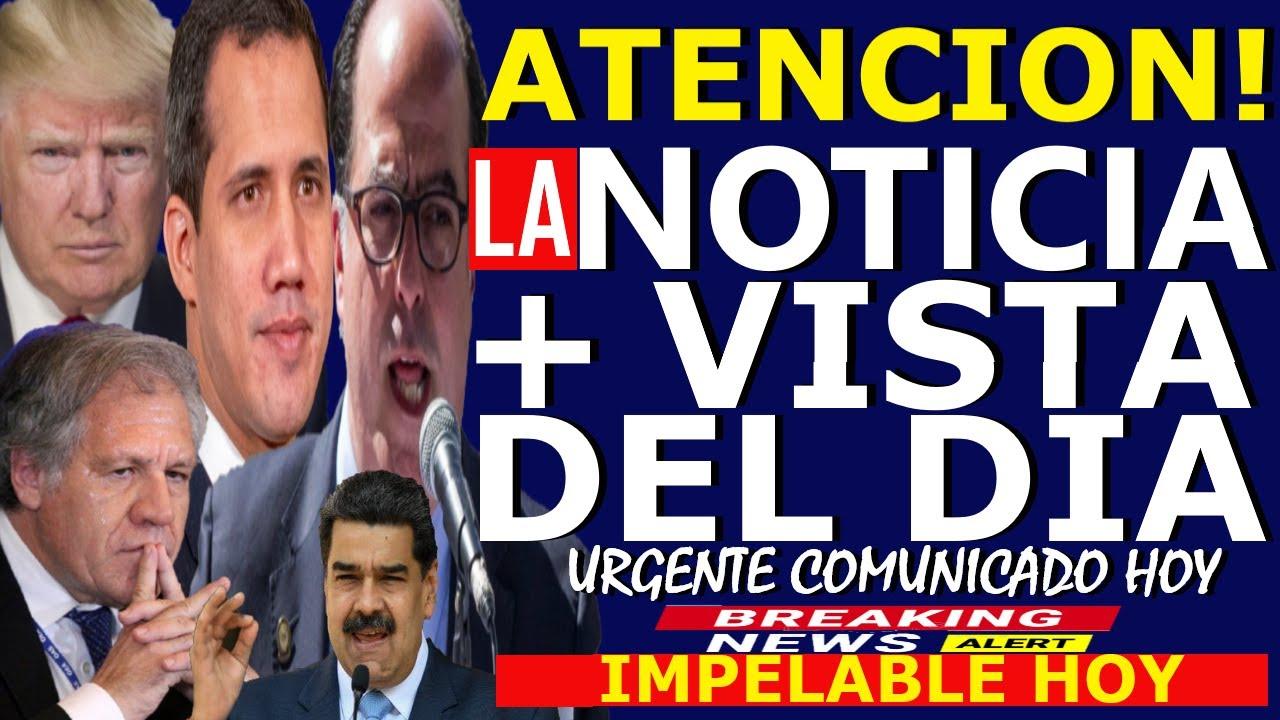 🔴HACE 5 MINUTOS, GUAIDO HOY - DONALD TRUMP - LUIS ALMAGRO - JULIO BORGES - OEA - MADURO EN PROBLEMAS