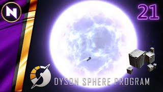 RAIDING NEUTRON STAR FOR RARE UNIPOLAR MAGNETS | #21 | Dyson Sphere Program | Lets Play/Walkthrough