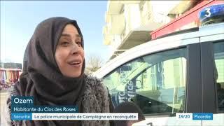 À Compiègne, la police municipale veut renouer le lien avec les habitants