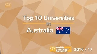 Top 10 Universities - Top 10 Universities in Australia 2016/17
