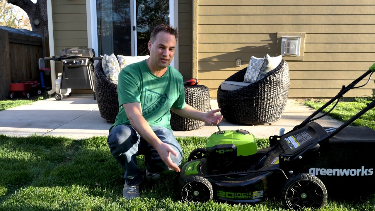 Greenworks 40V Cordless Lawn Mower - One Year Later