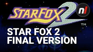 Star Fox 2: The FINAL Version on the Super NES Classic / SNES Mini