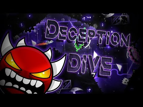 Geometry Dash | Deception Dive (Extreme Demon) by Rustam & More