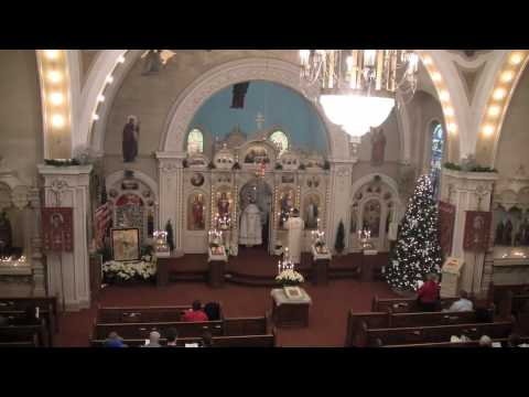 Christmas Day Festal Nativity Liturgy 09 Part #1