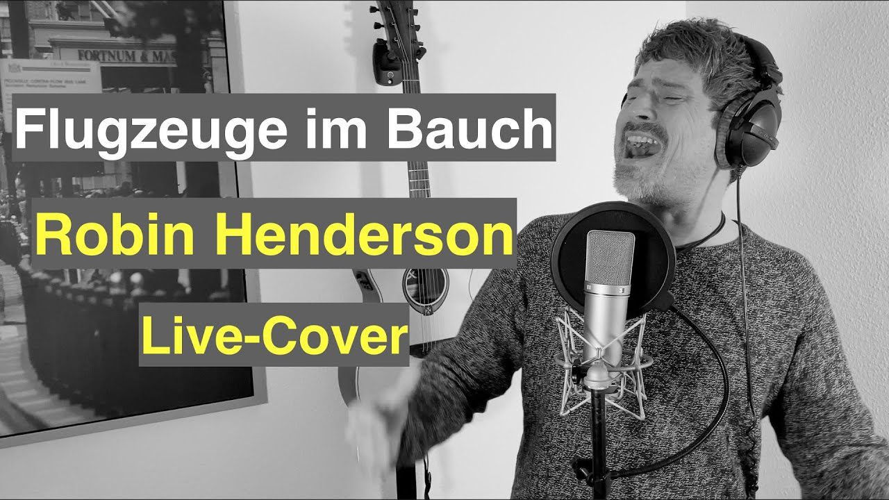 Flugzeuge im Bauch - Cover Robin Henderson