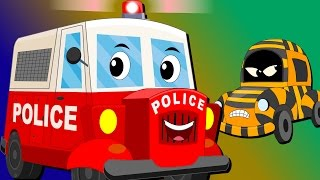 Download Ralph And Rocky | Police Car | Car Song And  Rhymes For Children Mp3 and Videos