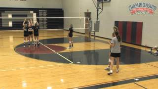 High School Volleyball Systems: Rotational Defense with Nancy Dorsey
