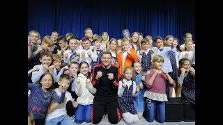 Боксёр Денис Беринчик осуществил мечту школьницы!