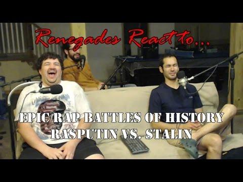 Renegades React to... Epic Rap Battles of History Rasputin vs. Stalin