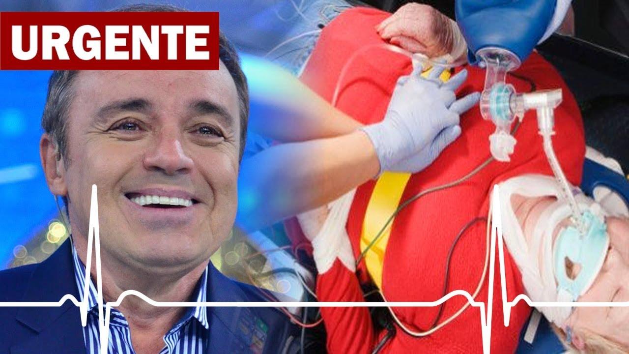 URGENTE: Gugu Liberato se acidenta em casa e é internado as pressas! - Gugu Liberato está mal!