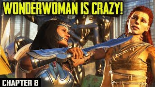Injustice 2 Mobile Story. Chapter 8: Wonder Woman went Completely Insane and KILLED HARLEY???