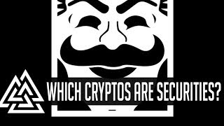 Which CryptoCurrencies Are Securities? Are EOS, XRP, & TRX Doomed?