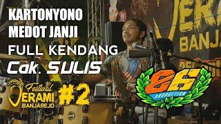 KARTONYONO MEDOT JANJI FULL KENDANG CAK SULIS MG 86 LIVE FESTIVAL JERAMI BANJAREJO