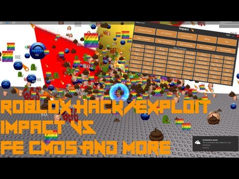 Roblox Hack/Exploit: Impact V5(Patched)Full LUA C, FE CMDs, Rich