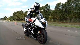 Aprenda a parar a moto com segurança