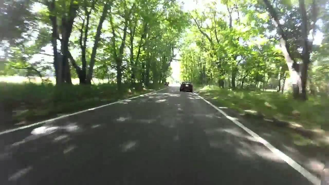 Pure Michigan Tunnel of Trees 2015 - YouTube