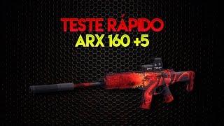 ZULA: Teste Rápido - ARX 160 [+5]