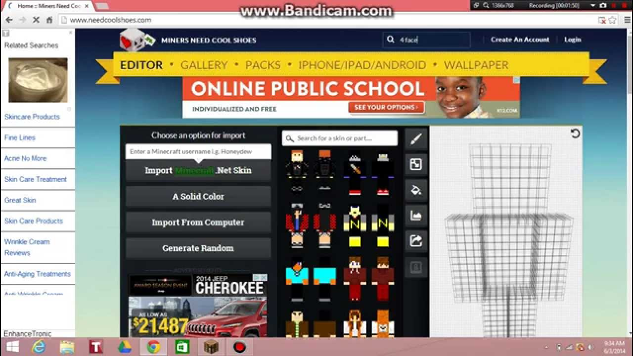 How to get free Minecraft skins for pc