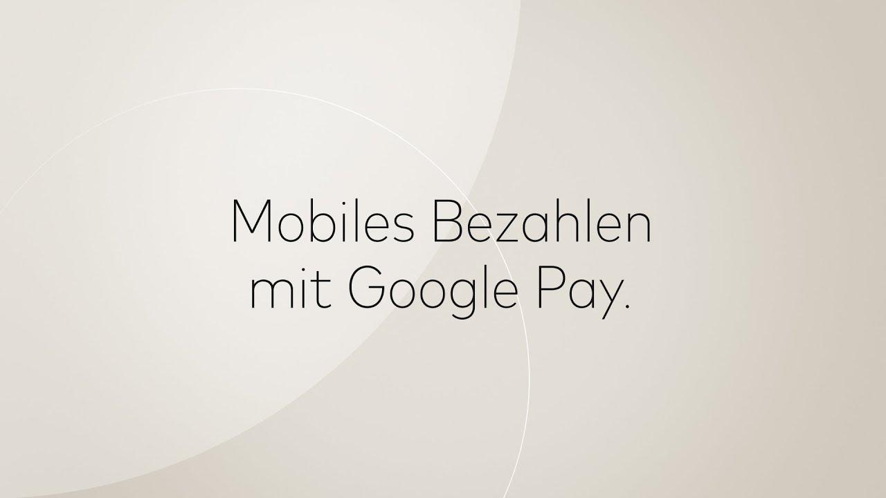 Google Pay Online Bezahlen