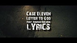 Case Eleven - Letter to God Lyrics
