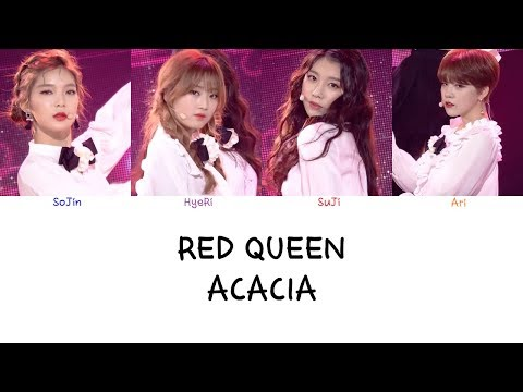 Red Queen - Acacia (Color coded lyrics Han|Rom|Eng)