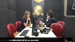 """""""Demoliendo Mitos"""" con JAVIER MILEI 29-11-19 /Radio Conexion Abierta"""