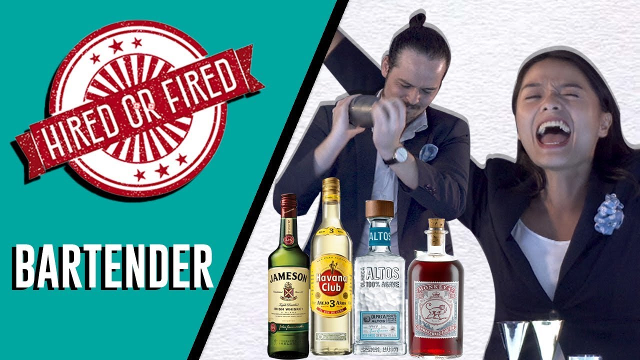 HIRED OR FIRED: BARTENDER FOR A DAY