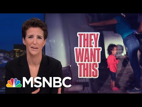 Donald Trump Cruel To Migrant Kids To Drive Immigration Political Wedge | Rachel Maddow | MSNBC