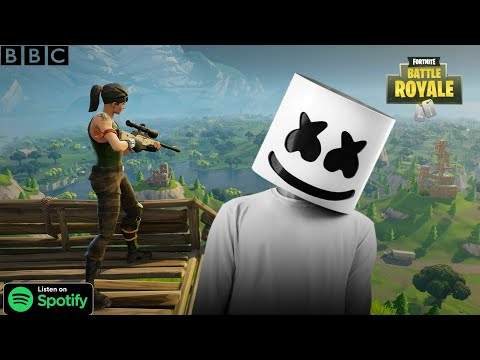 Fortnite music video ft.Marshmello– alone