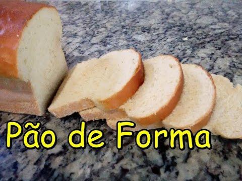 Como Fazer Pão de Forma Caseiro (por Fernando Couto)