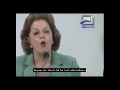 President Dilma Rousseff talks about the time she was Tortured.