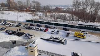 Крещение. Ледяная купель в Хабаровске