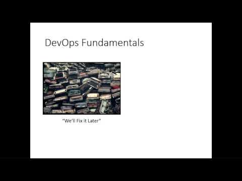 DevOps: What It Is, What it Isn't, and Why Coders Should Care - Dave Swersky