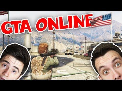 VÁLKA V MILITARY BASE! w/ Bax   GTA Doomsday   HouseBox
