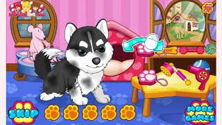 How to play Cats And Dogs Grooming Salon game | Free online games | MantiGames.com