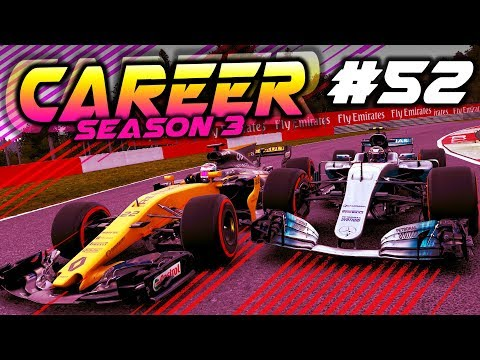 F1 2017 Career Mode Part 52: ATTACKING THE FRONT RUNNERS
