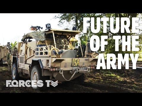 Strike Brigade: Testing The British Army's Newest Concept | Forces TV