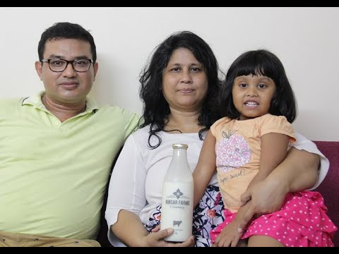 Binsar Farm's Farm Fresh Cow Milk Happy Customers