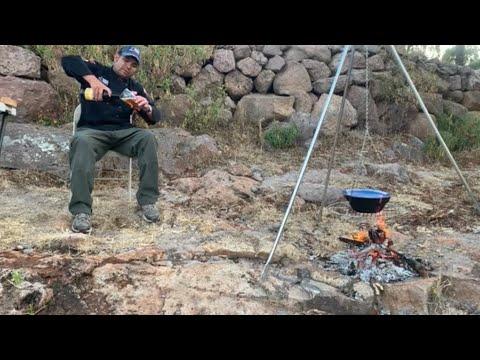 Acampando en la sierra Fría de Aguascalientes !