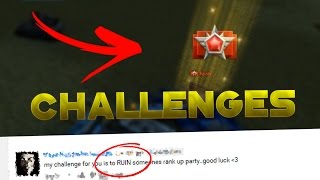 Tanki Online Challenges#1 I Ruin A Rank Up!?