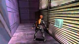TRLE (6) The Chronicles Of Lara Croft - New York 1999 Region Of Technology part 01 walkthrough