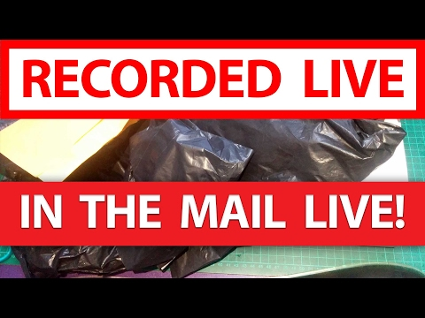 """In the Mail"" LIVE! - DVR03 AIO FPV Camera, RunCam Owl Plus, Servos, Bullets & more!"