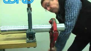 LORO-X cut the Push-fit pipe Verlegeanleitung / Installation manual